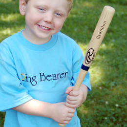 Mini Rawlings Baseball Bat