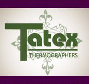 Tatex Thermographers Logo | Celebrations Ink