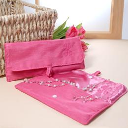 Thai Silk Jewelry Pouch (Set of 2)
