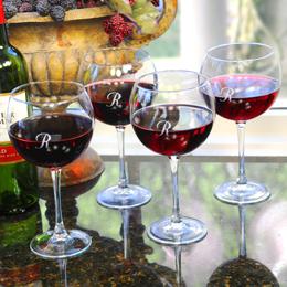 Red Wine Glasses (Set of 4)