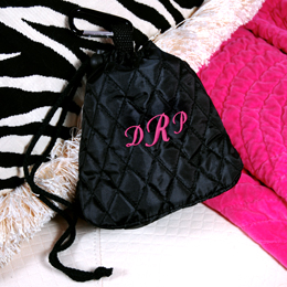 Personalized Quilted Carrying Pouch