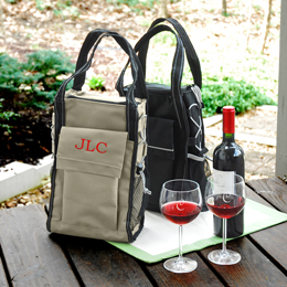 Insulated Wine Cooler Tote