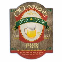 Irish Beer Bar Sign
