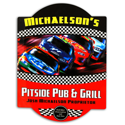 Stock Car Bar Sign
