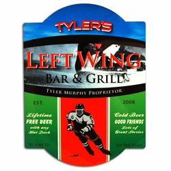 Hockey Bar Sign