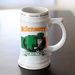 Irish Pub & Grub Stein