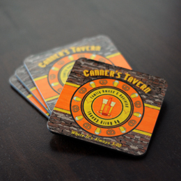 Old Tavern Coasters (Set of 4)