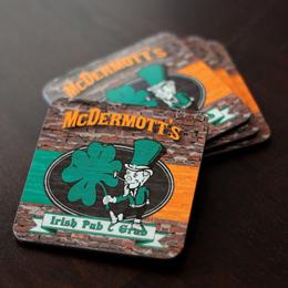 Irish Pub & Grub Coasters (Set of 4)