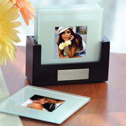 Picture Coasters & Personalized Holder