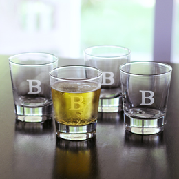 Double Old Fashioned Glasses (Set of 4)