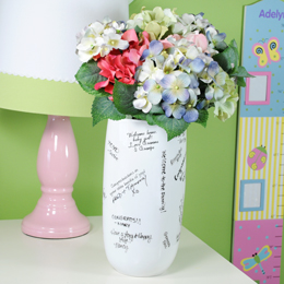 Signature Baby Shower Vase