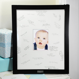 Baby's Signature Keepsake Frame