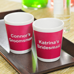 Personalized Souvenir Shot Glasses (Set of 2)