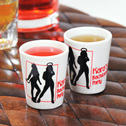 Devil's Advocate Party Shot Glasses