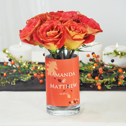 Fall Wedding Table Decoration