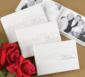 Pearlescent Wedding Albums