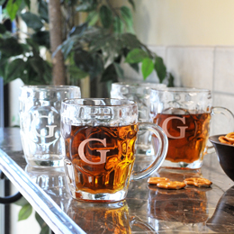 Classic Beer Tankards (Set of 4)