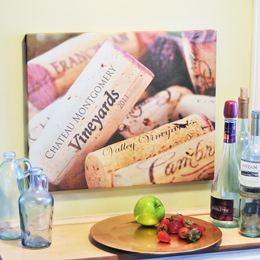 Wine Lovers Gallery Wrapped Canvas