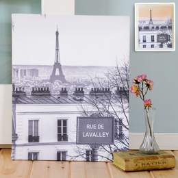 Love in Paris Gallery Wrapped Canvas