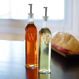 Oil & Vinegar Cruet Bottles