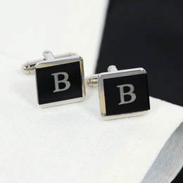 Two-Tone Tuxedo Cuff Links