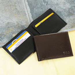 Windsor Bi-fold Genuine Leather Wallet