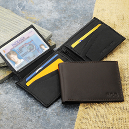 Kensington Bi-fold Genuine Leather Wallet