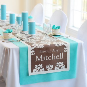 Damask Decorative Table Runners