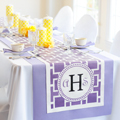 Wedding Reception Table Runners | Cathy's Concepts Wedding Decorations & Supplies