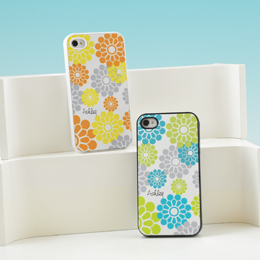 Flower Power Personalized iPhone Cases