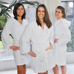 Plush Hooded Spa Robe