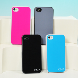 Solid Color Personalized iPhone Cases